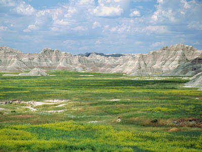 Badlands National Park,South_Dakota, USA