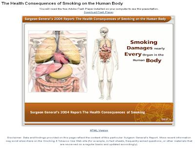 SmokeFree Wisconsin: Back to Basics: Interactive Human Body Map of ...