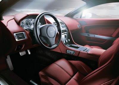 2008 Aston Martin V8 Vantage Roadster Interior