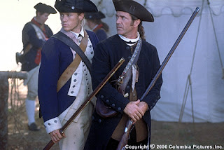 As Gabriel in the Patriot