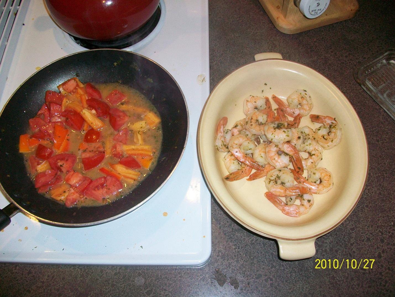 Something different for dinner shrimp alfredo with for Looking for something different for dinner
