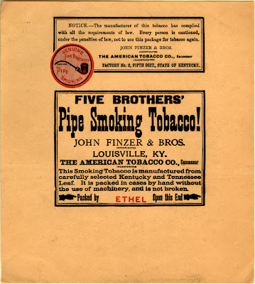 The Five Brothers Tobacco Works John Finzer Bros Proprietors Is By Far The Largest Tobacco Factory In