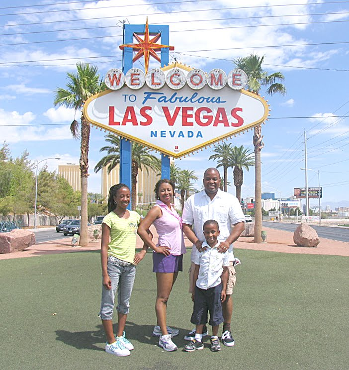 las vegas signage. The Johnson family have made