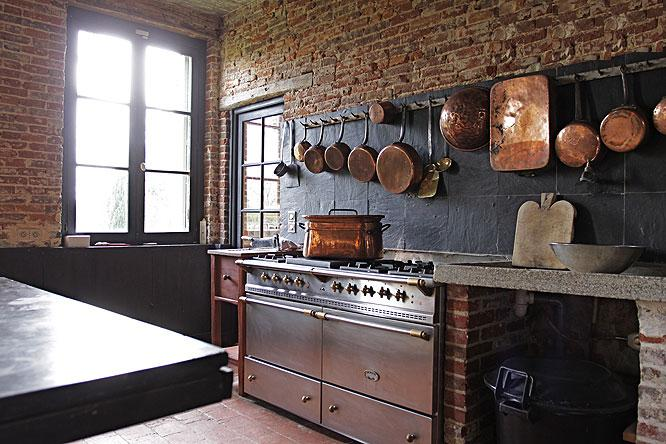 my french country home: the chateau kitchen