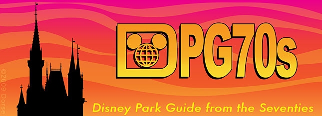 Disney Park Guide from the 70s