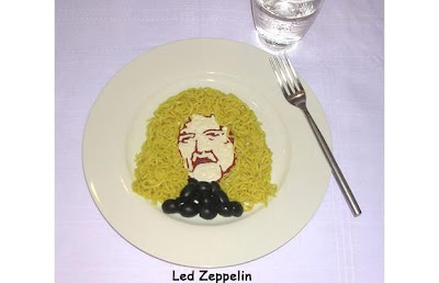 Unique Celebrity Shaped Noodles