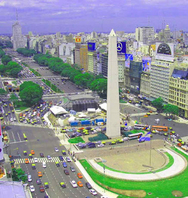 Photo of  Obelisco-Casa Rosada