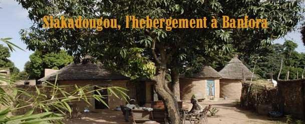 Siakadougou, l'hébergement de Banfora