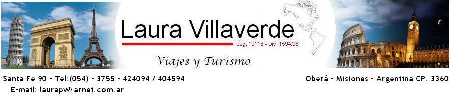Laura Villaverde - Viajes y Turismo