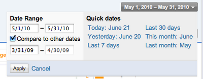 Compare2+date+ranges An update on the AdSense Product Ideas page