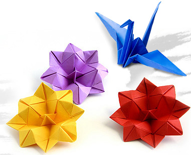 The name Origami comes from