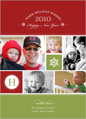 this initially yours green christmas card is a 5x7 beautiful shutterfly christmas card that can display many cute family moments - Shutterfly Christmas Cards