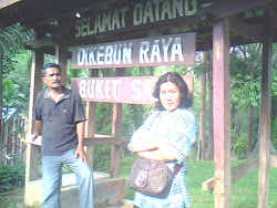 with husband