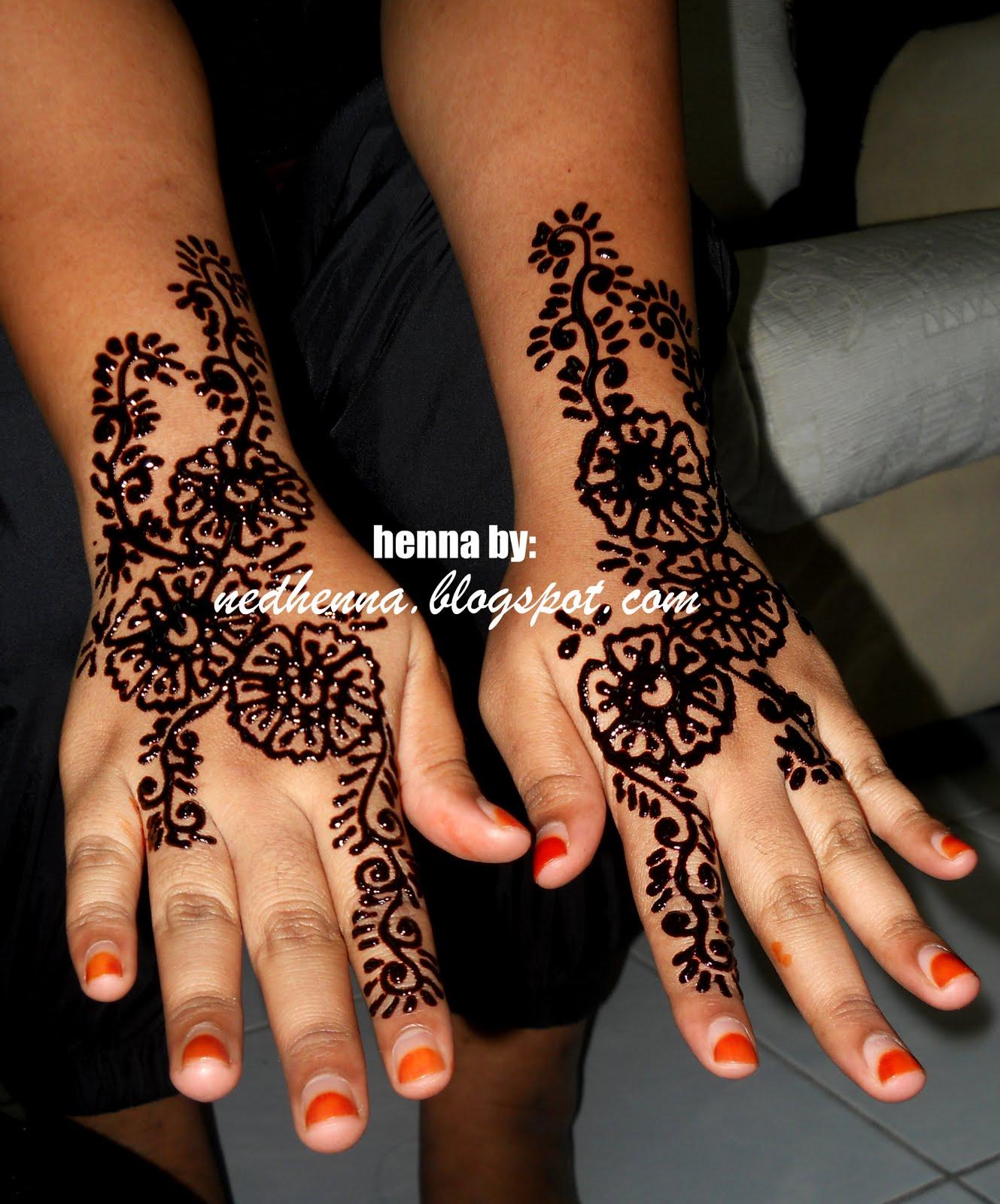 Henna Party Mehndi Kerucut Merah : Ned henna party suke ^^