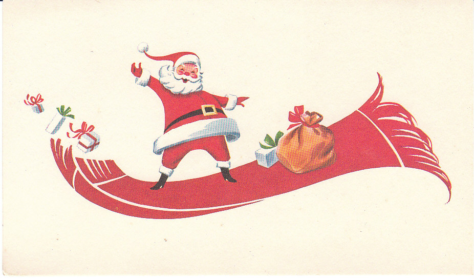 View from the Birdhouse: More Vintage Christmas Cards