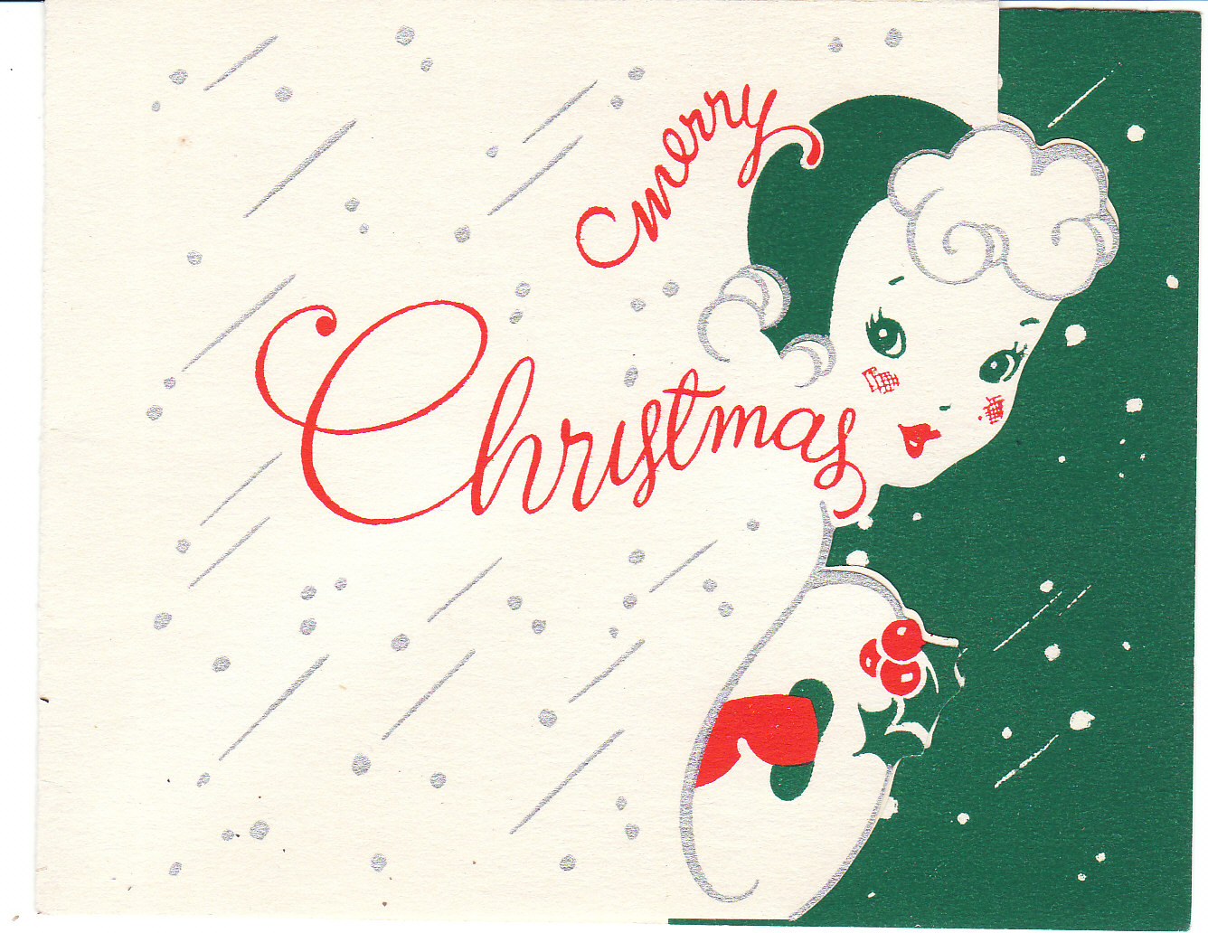 View from the Birdhouse: Vintage Christmas Card of the Day ...