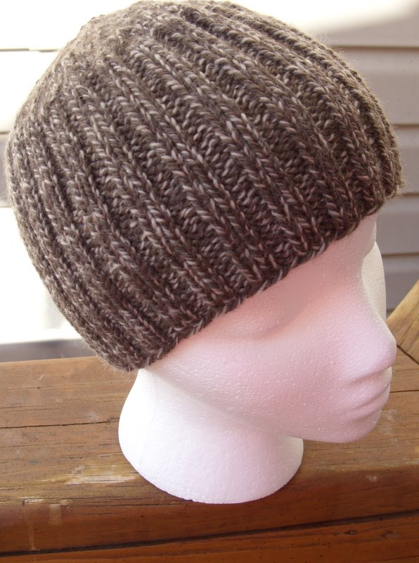 Boys Hat Knitting Pattern : Free Knit Hat Pattern By Quilted Cupcake. Boys Hat Free ...