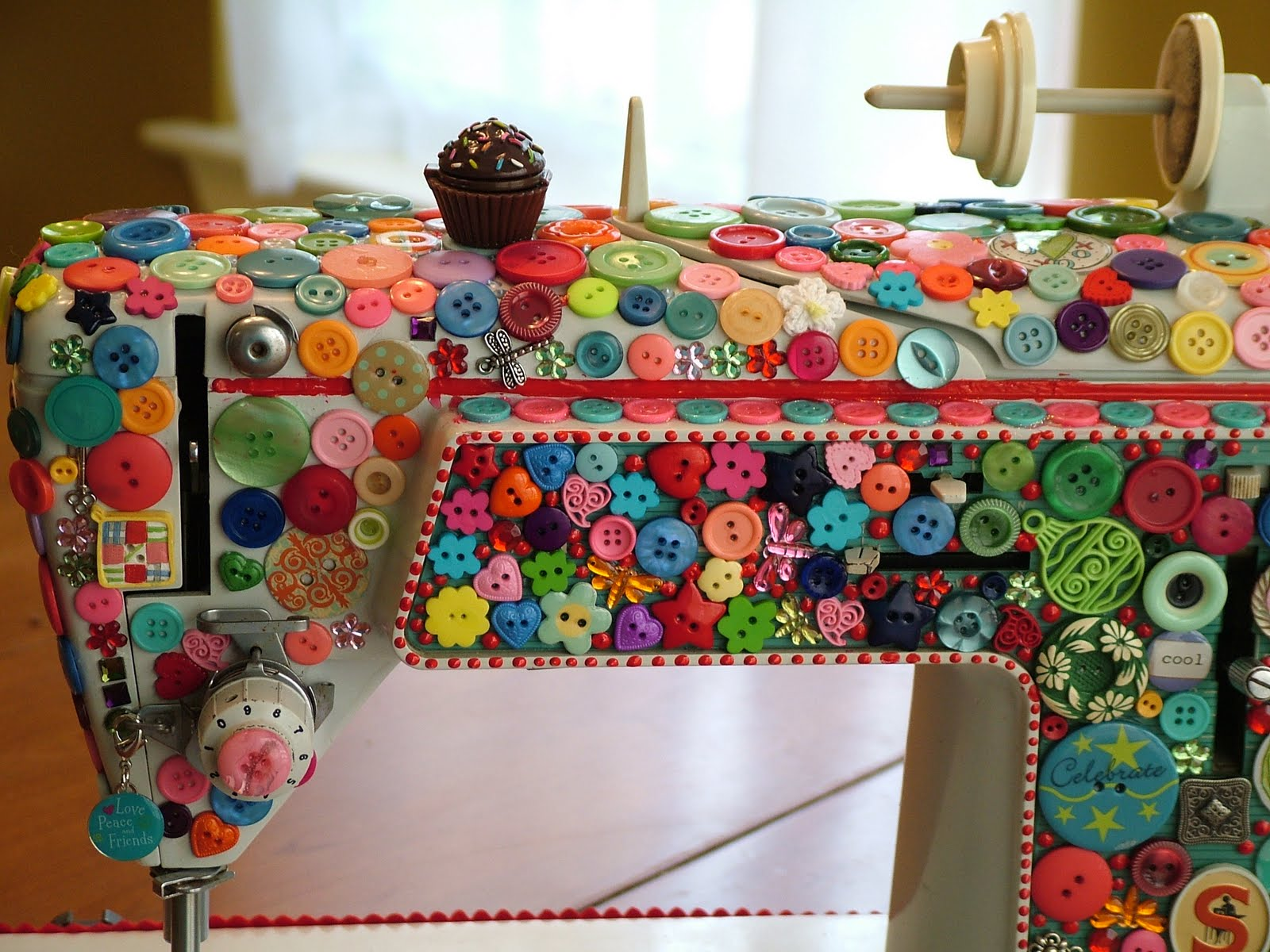 Quilted Cupcake\u0027s Sewing Machine |