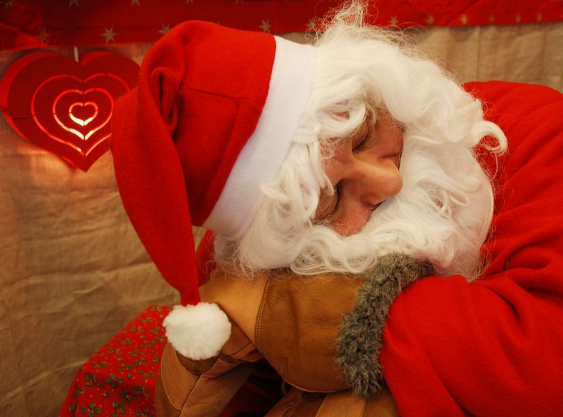 Santa S Tired Picture | New Calendar Template Site