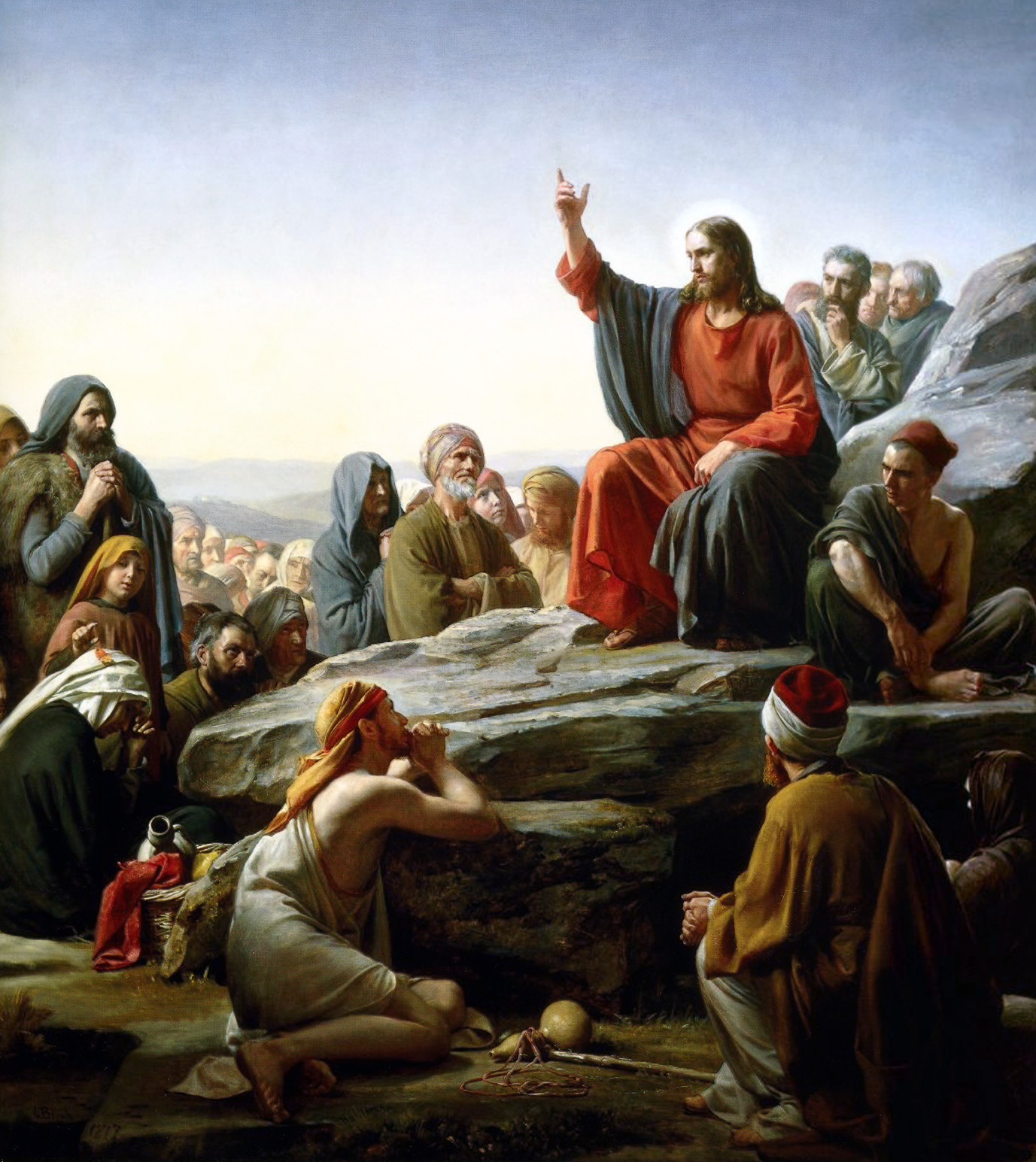the sermon on the mount and Sermon on the mount jesus discipleship training of the apostles  introduction  the sermon on the mount in matthew chapters 5-7 is jesus' first discipleship training of his new followers the usual approach we take to a teaching passage such as the sermon on the mount is with the expectation of building up o.