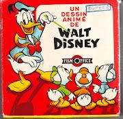 Ik vond onlangs dit Super 8 filmpje Un Dessin Animé de Walt Disney . (super doosje)