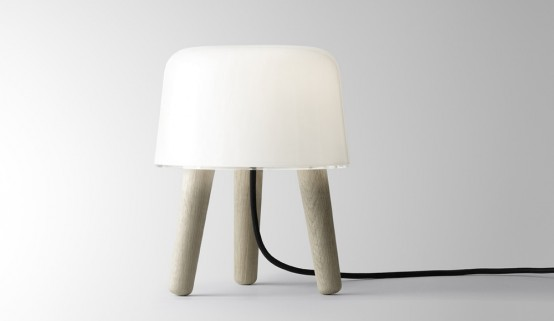 Home design news: lampada milk lamp di norm