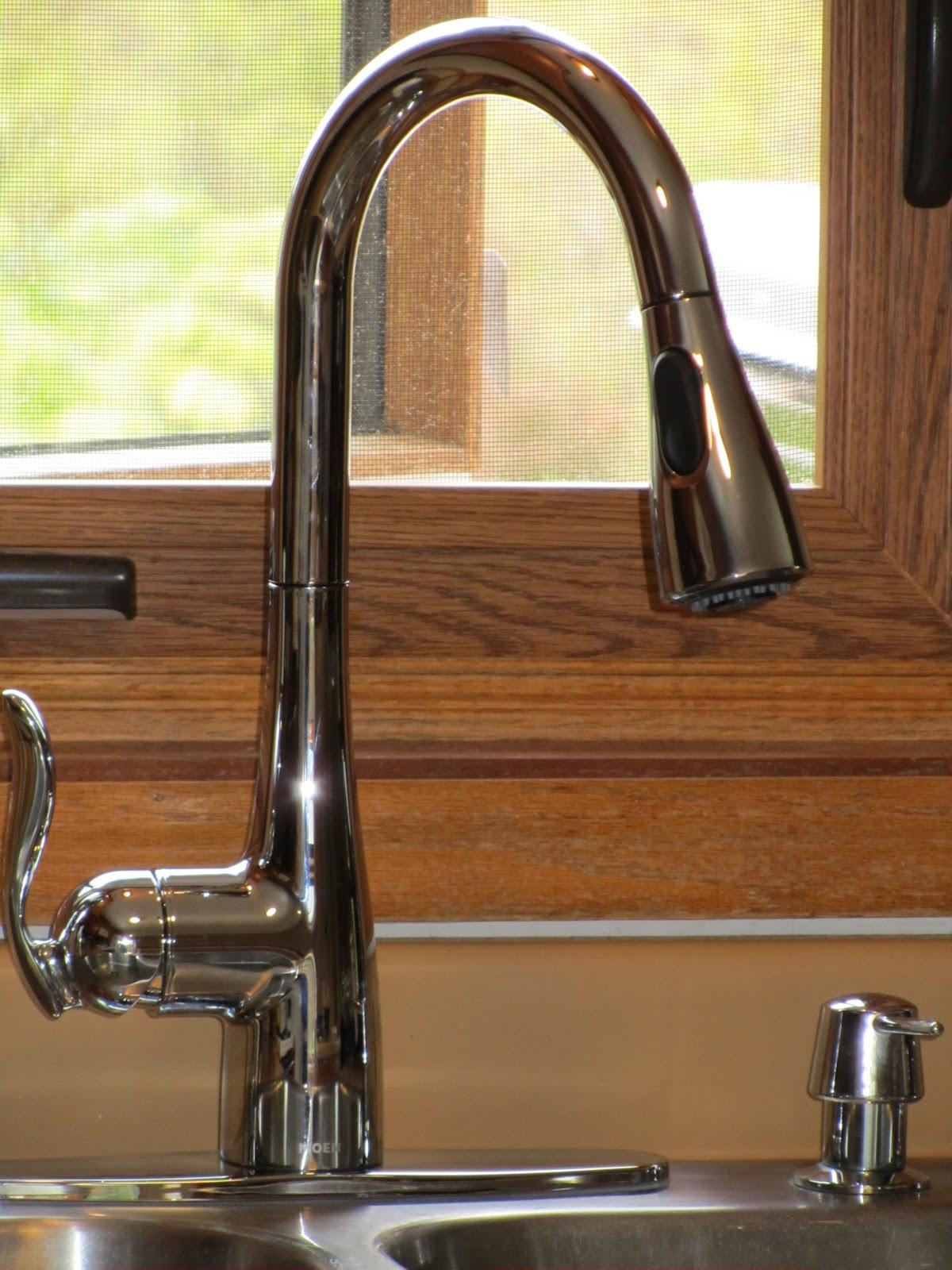 the hand me down house moen arbor kitchen faucet