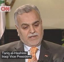 Irak. Vize-Präsident El Hashimi