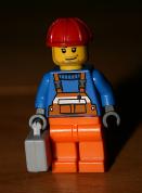 Symbolfoto: Lego-Bauarbeiter-Figur