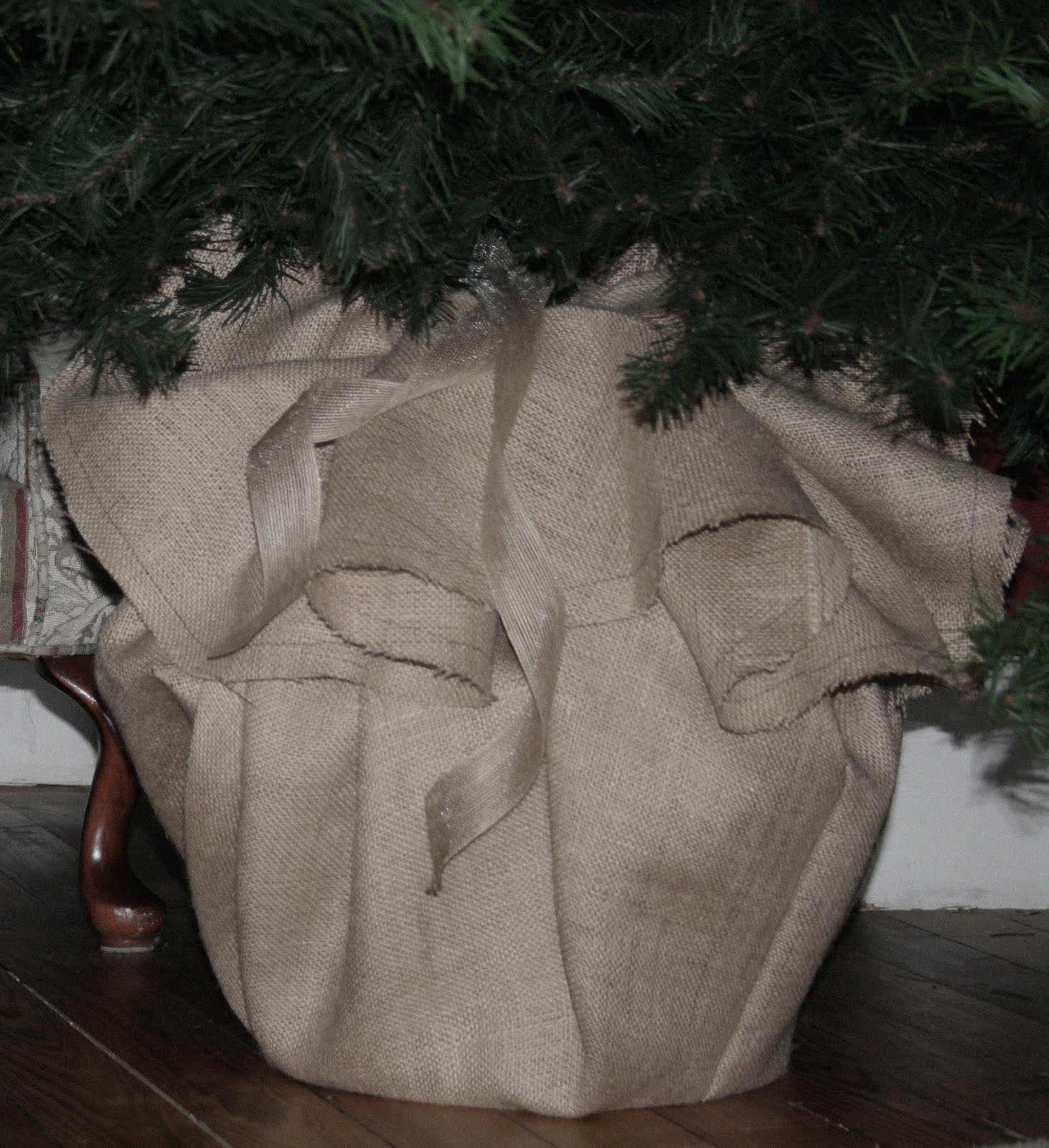 Christmas tree stand cover diy show off ™