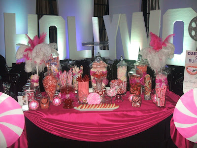 Jackie Sorkin at Custom Candy Buffet Bars budget wedding candy table