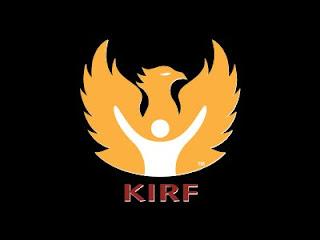 KIRF logo of a golden eagle