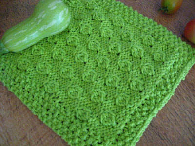 Dishcloth Pattern | The Knitting Yarn