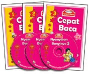 Pakej Cepat Baca dgn DVD - RM79.00