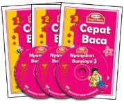 Pakej Cepat Baca dgn DVD - RM79.00