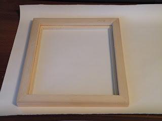 Рамку без стекла фрагмент обоев с