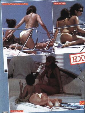 haifa wehbe bikini thong