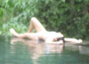 white bikini girl