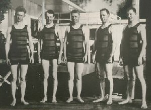 Mens Vintage Swimwear