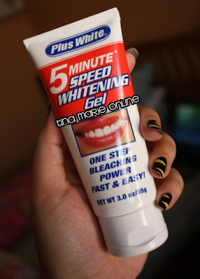 Plus white 5 minute bleach whitening gel review