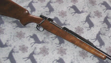 The big .550 Magnum cartridge fits a standard magnum action such as this CZ 550.