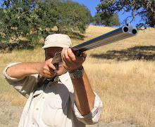 Mark Buchanan gets some trigger time behind his priceless Marcel Thys sidelock .470.