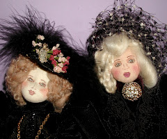 Original Cloth Victorian Dolls