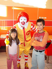 Mi hermana Ronald y Yo
