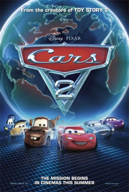 Carros 2 - Cars 2 Dublado