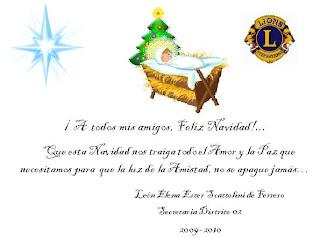 Tarjeta Navidad EScattolini