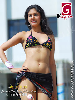 Miss Sri Lanka Swimwear 2010