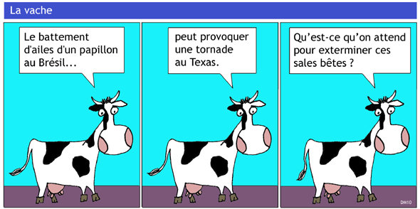 Le blog d 39 abc maths effet papillon - Image vache drole ...