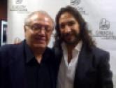 Con Marco Antonio Solis, en Las Vegas.