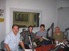 En la radio de Las Vegas.